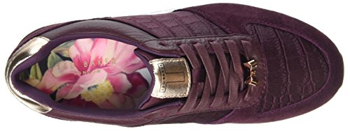 Ted Baker Kapaar, Baskets Femme Violet (Purple)