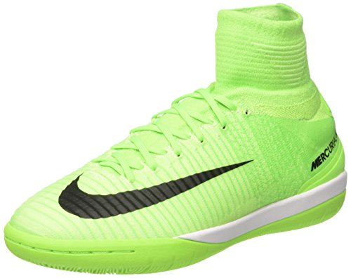 Nike Mercurial X Proximo Ii Ic, Chaussures de Football Homme Vert (Electric Green/black/ghost Green/gum Lite)