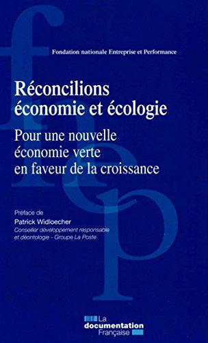 Réconcilions économie et écologie - P...
