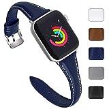 Fullmosa 5 Couleurs Bracelet Compatible avec Apple Watch 38mm / 40mm / 42mm / 44mm,...