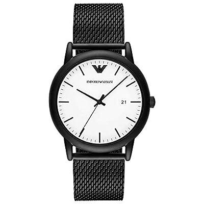 Emporio Armani Reloj Analógico para Hombre de Cuarzo con Correa en Acero Inoxidable AR11046 de Emporio Armani