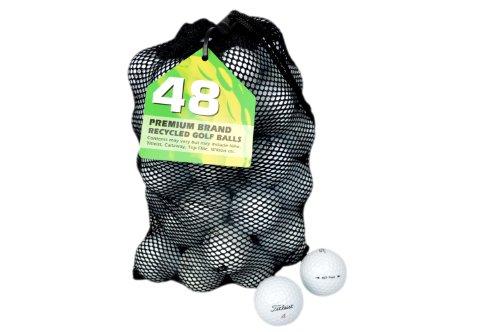 Second Chance Golfbälle 48 Titleist Nxt Tour Lake A-Qualität, weiß, PRE-48-MESH-TIT-NXTT -