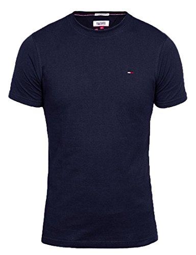 Tommy Hilfiger Denim Herren T shirt R-Neck Navy