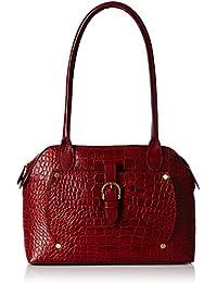 Hidesign  Women Shoulder Bag (Red Marsala)(MERCURY 01 SB RED MARSALA)