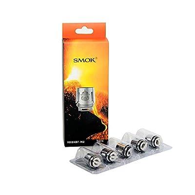 SMOK TFV8 Baby Beast Coils M2 - 0.25 Ohm (Packung von 5) Erhält Kein Nikotin von SMOK