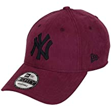 New Era New York Yankees New Era 9forty Adjustable Cap League Essential  Nylon Maroon Black cd8e4df4b55