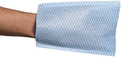 CMT G02100 Waschlappen, vlies, Weiß/Blau (1000-er Pack) (Waschlappen Pack)