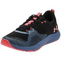 Under Armour UA Charged Engage, Men's Running Shoes,Black (Black/Hushed Blue Beta ),11 UK/46 EU