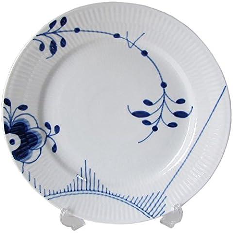 Blue Fluted Mega 22cm Lunch / Dessert Plate