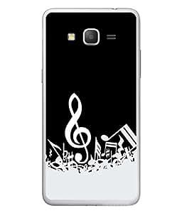 FUSON Designer Back Case Cover for Samsung Galaxy Grand 3 :: Samsung Galaxy Grand Max G720F (Art Classic Guitar Hobby Instrument )