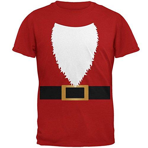 Halloween-Santa Claus Kostüm Herren Soft T Shirt rot SM