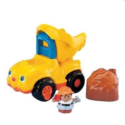 Fisher-Price J0890 - Little People - Camión de la basura con figura (Mattel)