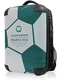 Mochila Principal Ciudad maletín rígida Style con diseño de EM Incluye Neceser