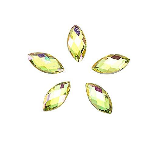 500 stücke Diamant Nagel Patch/acryl Pferd Auge Bohrer/Umwelt haltbar/DIY Nagel schmuck/Hochzeit/Party