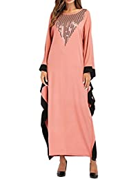 706335e8d446 Zhhlaixing Donne I Musulmani Kaftan Medio Oriente Robes Islamico Arabo  Muslims Dresses Abaya Maxi Cocktail Vestito