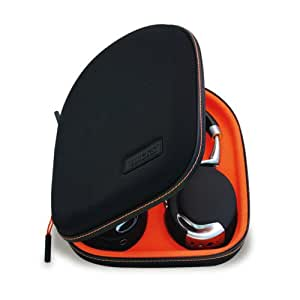 Wacks - Etui de protection pour Parrot Zik Noir/Orange