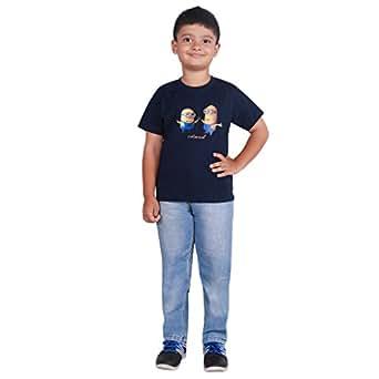 oneSummer Kids Blue Minions T-Shirt (8-9 Years)