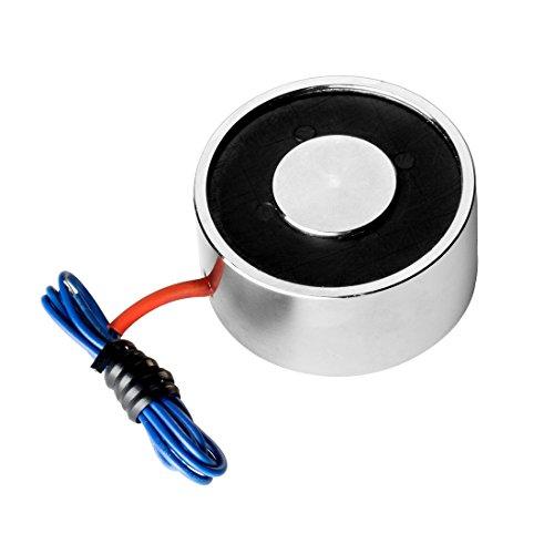 Preisvergleich Produktbild sourcingmap® 12V DC 250N 0.29LB/130g Elektrischer Hebemagnet Elektromagnet Solenoid Lift Hold