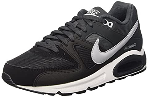 Nike Air Max Command, Chaussures de Running Compétition homme, Grey / noir / Blanc (Black / Wolf Grey-Anthracite-Wht), 40