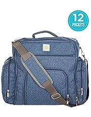 Mee Mee Multipurpose Diaper Bag (Backpack-Style, Blue)