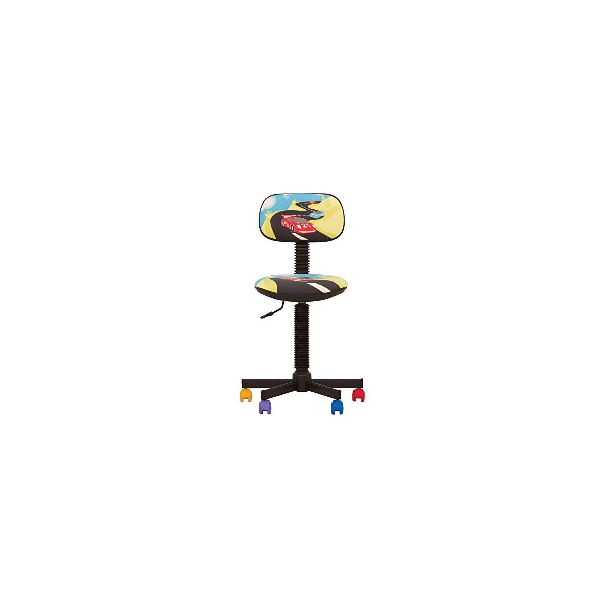 414GfV%2BMlcL. SS1200  - Bambo - Silla de escritorio infantil ergonómica, altura del asiento 42 cm-56 cm),altura del respaldo ajustable/giratorio 360 °/ruedas multicolor