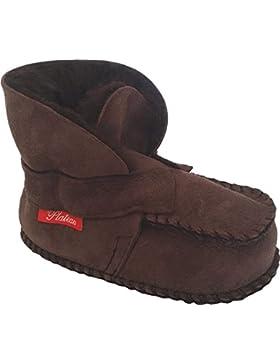 Plateau Tibet - ECHT LAMMFELL Schuhe Babyschuhe Baby Schuhe Booties Stiefel Krabbelschuhe Jungen Mädchen Lammfellschuhe