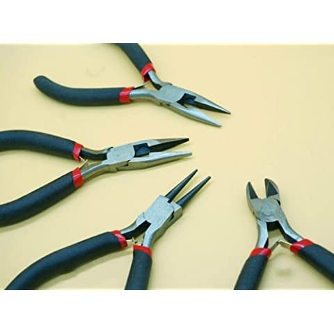 Nutbio (TM) Salas calde nuovo 1pcs Tooth Needle Nose laterale diagonale pinze di taglio Gioielli fai da te Fix Kit Fare