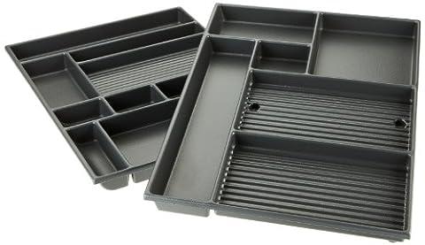 Kettler Schubladeneinsatz – Schubladeneinteilung Büro & Arbeitszimmer – perfekter Einsatz für die Schublade für Kettler Kinderschreibtisch College Box und andere Schreibtische mit Großraumschublade