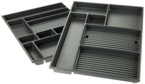 Kettler Schubladeneinsatz - Schubladeneinteilung Büro & Arbeitszimmer - perfekter Einsatz für die Schublade für Kettler Kinderschreibtisch College Box und andere Schreibtische mit Großraumschublade