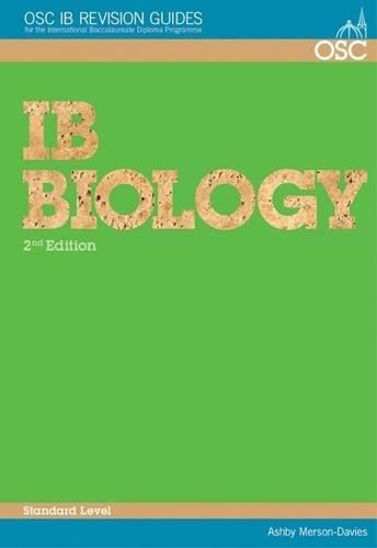 ib biology sl topic 2 revision