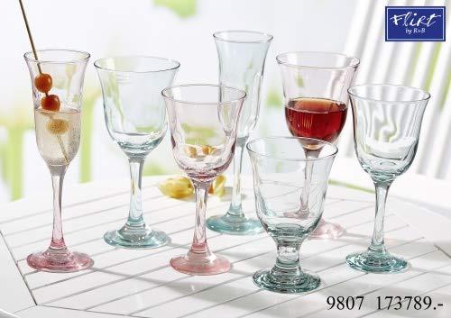 Ritzenhoff & Breker Glas-Serie Garden Bleu Größe Wasserglas 320 ml Garden Bleu
