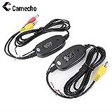 Camecho Nuovo Trasmettitore e Ricevente di Video senza Fili 2.4G di Colore per la Macchina Fotografica Anteriore dell'automobile di Sostegno del Veicolo