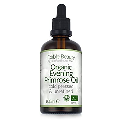 RealFoodSource Certified Organic Evening Primrose Oil 100ml from RealFoodSource