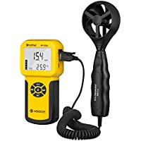 Holdpeak 826A Digital Wind Speed/Temperature Meter Anemometer Handheld with Data Logger Feature …