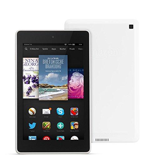 Fire HD 6, 15,2 cm (6 Zoll), HD-Display, WLAN, 8 GB (Weiß) - mit Spezialangeboten