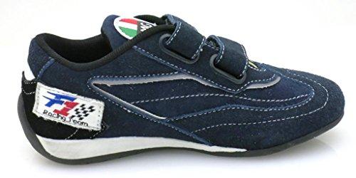 Primigi Jungensneaker Sneaker Klettschuhe Halbschuhe Navy EU 28 Navy
