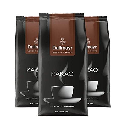 Dallmayr Vending & Office Kakao 14,5%, 1000g, 3er Pack