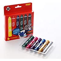 Sense Twistable Gel Crayon Set for Toddlers, 6 Pack