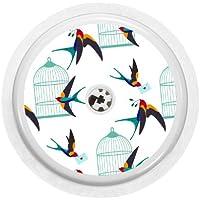 Freestyle Libre Sensor Vinyl Aufkleber (Birdcage) preisvergleich bei billige-tabletten.eu