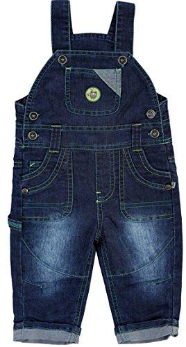 JACKY Baby Jungen Serie 'Indian Forest' Body-Hemd Langarm-Shirt Schlafanzug Bodies Strampler Jeans-Hosen (68, Jeans-Latzhose)