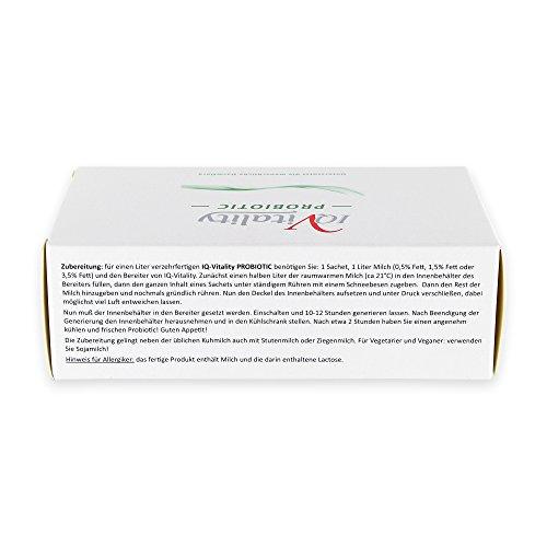 IQv Probiotic Joghurtkulturen zum Anrühren 4×10 g - 4