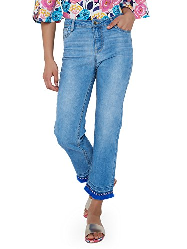 Chumbak Solid Blue Jeans