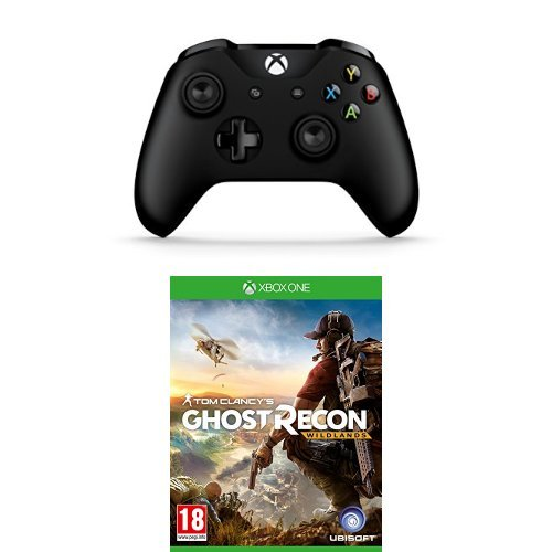 Price comparison product image Xbox One Controller + Ghost Recon Wildlands