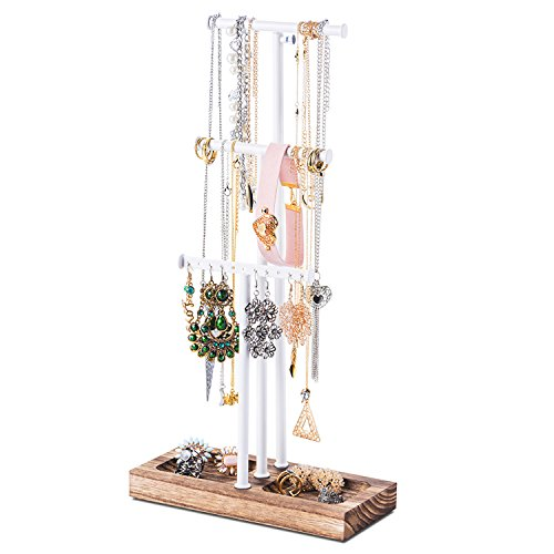 Love-kankei espositore gioielli regolabile porta bigiotteria in metallo/per i tuoi orecchini/per i tuoi gioielli/espositore di gioielli