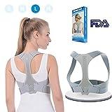 ANOOPSYCHE Posture Corrector Adjustable Back Shoulder Spinal Support Belts for Men Women, Physical