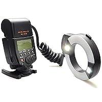 Nikon İçin MeiKe MK-14EXT-N i-TTL (Macro) Makro Ring Flaş