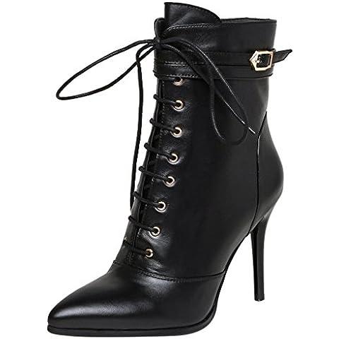 ELEHOT Donna Eleto tacco a spillo 9.5CM Leather
