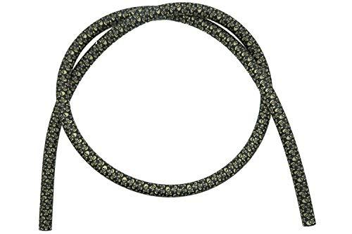 Caesar Shisha Army Silikonschlauch   1,50 m   für Alle Wasserpfeifen   Flexibel und Robust (Pirat Gold)