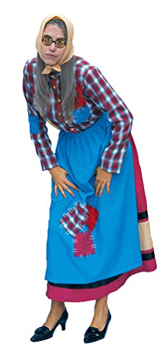 lte Oma Kostüm Damen Größe 42 ()