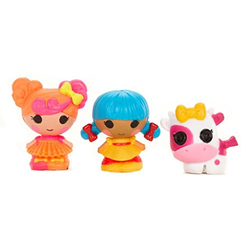 MGA Entertainment 534211GR - Lalaloopsy Tinies Minipuppe, Design 4, 3-er Pack